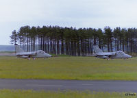RAF Leuchars - A pair of Aermacchi AMX of 32 Stormo Italian Air Force lined up on rwy 27 at RAF Leuchars EGQL. - by Clive Pattle