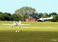 RAF Cranwell Airport, Cranwell, England United Kingdom (EGYD) - RAF Cranwell EGYD action on a sunny day - by Clive Pattle