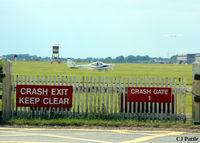 RAF Cranwell Airport, Cranwell, England United Kingdom (EGYD) - Crash Gate at EGYD - by Clive Pattle