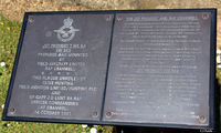 RAF Cranwell - Information plaque at RAF Cranwell EGYD regarding the Jet Provost Gate Guard XW353 (see aircraft photo)  - by Clive Pattle