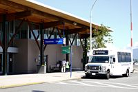 Vancouver International Airport, Vancouver, British Columbia Canada (CYVR) - YVR South Terminal. Shuttle Bus to main terminal - by metricbolt
