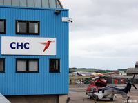 Aberdeen Airport, Aberdeen, Scotland United Kingdom (EGPD) - CHC Scotia Hangar at Aberdeen, Scotland EGPD - by Clive Pattle