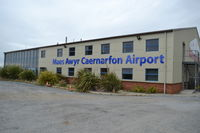 Caernarfon Airport - Caernarfon Airport Terminal, Wales. - by David Burrell