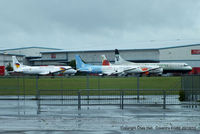 Coventry Airport - BAe ATP's stored at Coventry - by Chris Hall