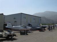 Santa Paula Airport (SZP) - Aviation Museum of Santa Paula First Sunday Open House & Fly-In. Three VAN's RV-12 LSAs on display - by Doug Robertson