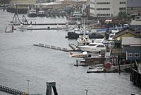 Ketchikan Harbor Seaplane Base (5KE) - Rainy day in Ketchikan. N471PM in foreground. - by metricbolt