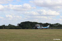 EGTH Airport - A view across the airfield towards the tower at The Shuttleworth Trust, Old Warden Airfield. EGTH - by Clive Pattle