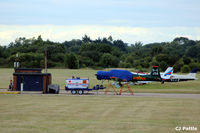 White Waltham Airfield - Aircraft refueling area at White Waltham EGLM - by Clive Pattle