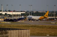 Leipzig/Halle Airport, Leipzig/Halle Germany (EDDP) - View to apron 5 ... - by Holger Zengler