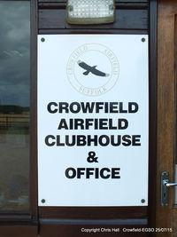 Crowfield Airfield - Crowfield Airfield - by Chris Hall