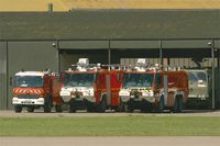 LFMY Airport - Fire trucks, Salon De Provence air base (LFMY) - by Yves-Q