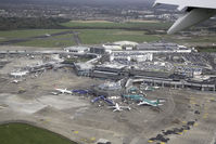 Dublin International Airport - Overview of Dublin Airport's Terminal 2 and surrounds - by Mark Taylor