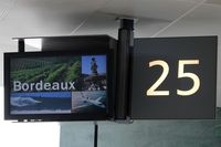Bordeaux Airport, Merignac Airport France (LFBD) - Spotter is waiting for a ferry to CDG at gate 25, dreaming of four beautiful days in Bordeaux... - by Holger Zengler