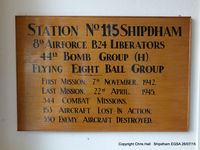 Shipdham Airport - inside the club house at this former USAAF airbase - by Chris Hall