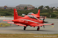 Anglesey Airport (Maes Awyr Môn) or RAF Valley - Swiss Air Force Pilatus PC-21's during a week long exercise at RAF Valley - by Chris Hall