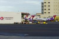 Honolulu International Airport (HNL) - Hawaiian's headquarter at HNL - by Tomas Milosch