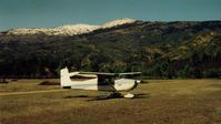 Gravelly Valley Airport (1Q5) - 69E at the north end of field with a winter view of Hull Mt.Now that 1Q5 is very near the new Berryessa Snow Mt National Monument,what will happen to 1Q5? I wonder.Monuments have a habit of expanding with all thier restrictions! - by S B J
