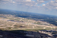 Chicago O'hare International Airport (ORD) - O'Hare Airport as seen from the air in a MD80 - by Eric Olsen