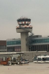 Marco Polo International Airport (Marco Polo Venice Airport) - The tower - by Timothy Aanerud