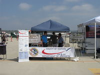 Camarillo Airport (CMA) - Ventura County Dept. of Airports display booth at 2015 Wings Over Camarillo Airshow. Maintains OXR & CMA airports from CMA Headquarters. - by Doug Robertson