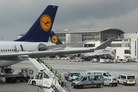 Frankfurt International Airport, Frankfurt am Main Germany (EDDF) - Situation on apron A at terminal 1... - by Holger Zengler
