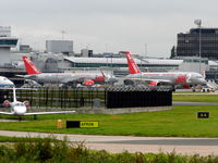 Manchester Airport, Manchester, England United Kingdom (EGCC) - At Manchester - by Guitarist