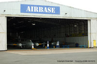 Coventry Airport - 'Airbase' at Coventry - by Chris Hall