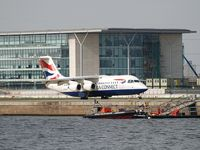 London City Airport - BA Connect take off - by Jean Goubet-FRENCHSKY