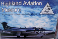 Inverness Airport - Signage at the Highland Aviation Museum located at Inverness airport EGPE Scotland. - by Clive Pattle