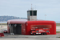 Nice Côte d'Azur Airport - Fire house  - by micka2b