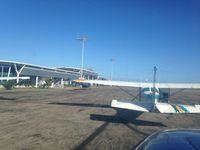 Vilankulo Airport, Vilankulo Mozambique (FQVL) - Vilankulo Parking  - by Klaus Wybranietz