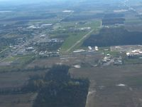 Willard Airport (8G1) - Looking east from about 2500 ft. - by Bob Simmermon