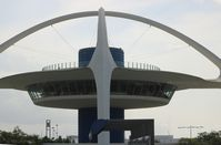 Los Angeles International Airport (LAX) - Theme Building - by Florida Metal