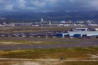 Honolulu International Airport, Honolulu, Hawaii United States (PHNL) - General aviation apron - by Micha Lueck