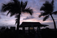 Kona International Airport, Kailua-Kona, Hawaii United States (PHKO) - Sunset at Kailua-Kona - by Micha Lueck