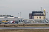 Leipzig/Halle Airport, Leipzig/Halle Germany (EDDP) - Northern view to apron 1 and former tower building..... - by Holger Zengler