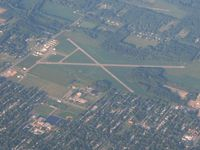 Jerry Tyler Memorial Airport (3TR) - Looking NE from 10,000 ft. - by Bob Simmermon