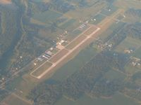 De Kalb County Airport (GWB) - Looking NE from 10,000 ft. - by Bob Simmermon