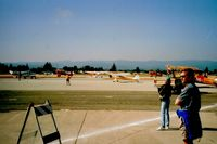 Watsonville Municipal Airport (WVI) - End of airshow and planes departing. Always a fun watch. Talk about a feast for the eyes for anyone who is into aviation!! - by S B J