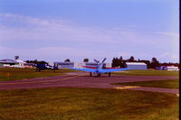 Flying Cloud Airport (FCM) - I believe this is either just before or just after Oshkosh, 1986. Taken from the Classic Aviation ramp. - by GatewayN727