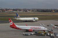 Tegel International Airport (closing in 2011), Berlin Germany (EDDT) - North-eastern view over TXL runways.... - by Holger Zengler