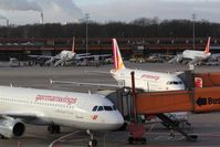 Tegel International Airport (closing in 2011), Berlin Germany (EDDT) - left, right, up and down - the world seems to be germanwings..... - by Holger Zengler