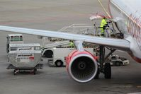 Tegel International Airport (closing in 2011), Berlin Germany (EDDT) - Business as usual on apron..... - by Holger Zengler