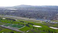 Petaluma Municipal Airport (O69) - Departing Petaluma Municipal Airport, Petaluma, CA on a right downwind departure in Diamond Star 40 N171CB. Headed back home to Reid Hillview KRHV. - by Chris Leipelt