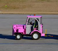 Charlotte/douglas International Airport (CLT) - Pink tug CLT TY473 - by Ronald Barker