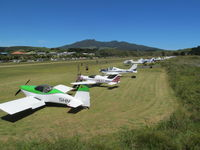 Raglan Aerodrome - Line up on fly in day - by magnaman