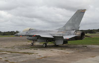 Houma-terrebonne Airport (HUM) - An old F-16 from Arizona far away from home... - by olivier Cortot