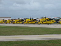 Houma-terrebonne Airport (HUM) - many, many helicopters thhere - by olivier Cortot