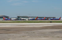 William P Hobby Airport (HOU) - A lot of southwest - by olivier Cortot