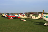 Wickenby Aerodrome Airport, Lincoln, England United Kingdom (EGNW) - lined up before our A2A photoshoot - by Chris Hall